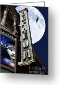 Musicals Greeting Cards - Midnight at The Orpheum - San Francisco California - 5D17991 Greeting Card by Wingsdomain Art and Photography