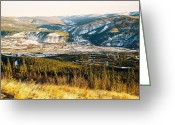 Dawson City Greeting Cards - Midnight Dome - Dawson City Greeting Card by Juergen Weiss