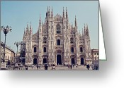 Benjamin Matthijs Greeting Cards - Milan Cathedral Greeting Card by Benjamin Matthijs