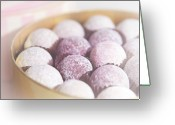 Indoors Greeting Cards - Milk Chocolate Truffles Greeting Card by Peter Chadwick LRPS