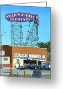 Hyperrealism Greeting Cards - Million Article Thompson Greeting Card by Michael Ward