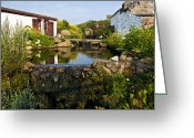 Granite Walls Greeting Cards - Millpond Reflections Greeting Card by Paul Howarth