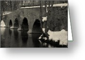Kingston Greeting Cards - Millstone River 2 Greeting Card by Steven Richman
