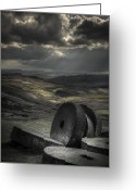 Mill Stone Greeting Cards - Millstones Greeting Card by Andy Astbury