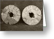 Mill Stone Greeting Cards - Millstones Greeting Card by Victor De Schwanberg