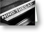 Warn Greeting Cards - Mind The Gap Between Platform And Train At London Underground Station England United Kingdom Uk Greeting Card by Joe Fox