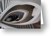 Staircase Greeting Cards - Mindseye Greeting Card by Suzanne Gaff