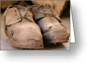 Europa Greeting Cards - Mining Shoes  Langban Sweden Greeting Card by Dagmar Ceki