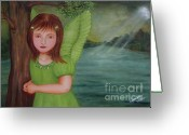 Fairies Greeting Cards - Miracle Greeting Card by Desiree Micaela