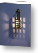 Rennie Greeting Cards - Mirror the Light Greeting Card by Laura McGlinn