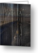Abstract Framed Prints Framed Prints Greeting Cards - Missing Keys Greeting Card by Jerry Cordeiro