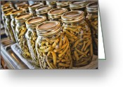 Ball Jar Greeting Cards - Mission Accomplished Greeting Card by Cricket Hackmann