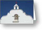 Spaniards Greeting Cards - Mission Greeting Card by Bob Christopher