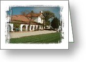 San Juan Bautista Greeting Cards - Mission San Juan Bautista - I Greeting Card by Ken Evans