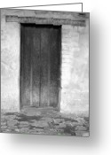 Old San Juan Greeting Cards - Mission San Juan Capistrano Doors Greeting Card by Brad Scott