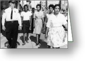 Civil Rights Photo Greeting Cards - Mississippi: Sit-in, 1963 Greeting Card by Granger