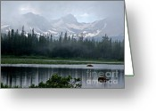Landscape Photograpy Greeting Cards - Misty Beauty Greeting Card by George Tuffy