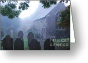 Francis Digital Art Greeting Cards - Misty St Budeaux Greeting Card by Donald Davis