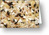 Grains Greeting Cards - Mixed rice Greeting Card by Fabrizio Troiani
