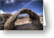 Reno Gregory Greeting Cards - Mobius Arch Greeting Card by Reno Gregory