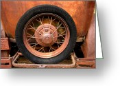 Model A Greeting Cards - Model A  Oklahoma Spare Greeting Card by Ann Powell