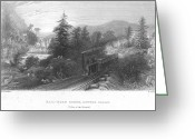 Mohawk Greeting Cards - Mohawk Valley, Ny, 1838 Greeting Card by Granger