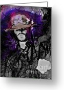 The Doors Mixed Media Greeting Cards - Mojo Risen Greeting Card by Jason Olds