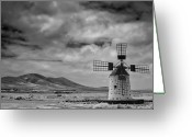 Tranquility Greeting Cards - Molino De Cotillo Greeting Card by Martin Zalba is a photographer looking for a personal look,