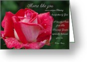 Robyn Stacey Photo Greeting Cards - Mom Handpicked by God Greeting Card by Robyn Stacey