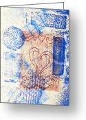 Love Reliefs Greeting Cards - Moment Of Truth Greeting Card by Yael VanGruber