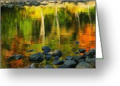 "\""aimelle Photography\\\"" Greeting Cards - Monet Autumnal 02 Greeting Card by Aimelle"
