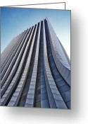 Rochester Ny Greeting Cards - Monolith Greeting Card by Kristen Cavanaugh