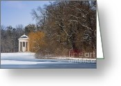 Nymphenburg Greeting Cards - Monopteros Greeting Card by Andrew  Michael