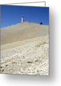 Visitor Greeting Cards - Mont Ventoux.Provence Greeting Card by Bernard Jaubert