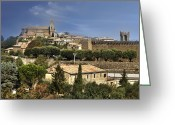 Old City Greeting Cards - Montalcino Greeting Card by Joana Kruse
