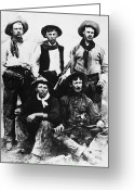 Smoker Greeting Cards - Montana Cowboys Greeting Card by Granger