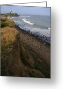 Long Island Greeting Cards - Montauk Surf and Turf Greeting Card by Christopher Kirby