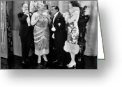 Tuxedo Greeting Cards - Monte Carlo, 1926 Greeting Card by Granger