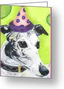 Fun Pastels Greeting Cards - Monte Greeting Card by Michelle Hayden-Marsan