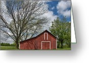 Central Jersey Greeting Cards - Montgomery Barn Greeting Card by Steven Richman