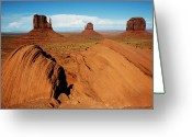 Monument Valley Photo Greeting Cards - Monument Valley, Ansel Adams Greeting Card by Frederic Labaune