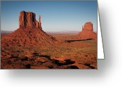 Monument Valley Photo Greeting Cards - Monument Valley At Sunset Greeting Card by by Carlos Esteves TOP Photography