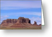 John Wayne Greeting Cards - Monument Valley Mesa  Greeting Card by Viktor Savchenko