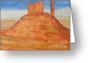 Pamela Meredith Greeting Cards - Monument Valley Greeting Card by Pamela  Meredith