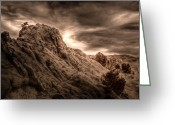 Nevada Greeting Cards - Moon Rocks Greeting Card by Scott McGuire