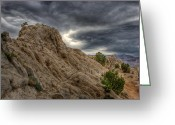 Nevada Greeting Cards - MoonRocks Greeting Card by Scott McGuire