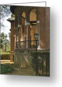 Portico Greeting Cards - Moorish by Design  Greeting Card by Mary Machare