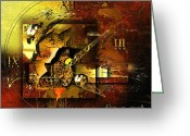 Magic  Digital Art Greeting Cards - More Than The Reality Greeting Card by Franziskus Pfleghart