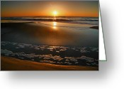 Acrylic Print Greeting Cards - Morning Has Broken Greeting Card by Steven Ainsworth