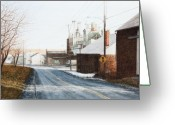 Berks County Greeting Cards - Morning In America Greeting Card by Steven J White PWS